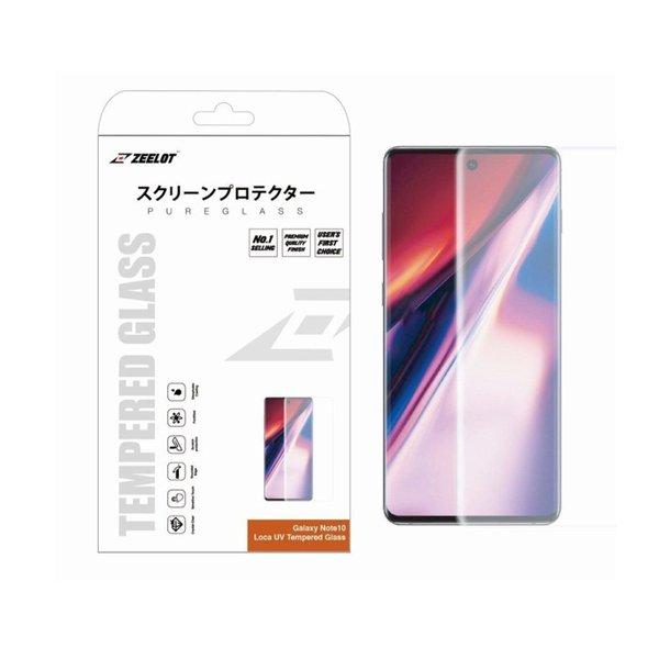 ZEELOT PureGlass 3D Matte LOCA Tempered Glass Screen Protector for Samsung Galaxy Note 10 Plus