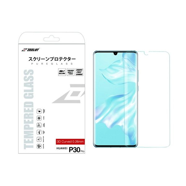 ZEELOT PureGlass 3D Clear LOCA Tempered Glass Screen Protector for Huawei P30 Pro(2019)