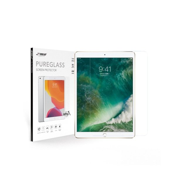 """ZEELOT PureGlass 2.5D Clear Tempered Glass Screen Protector for iPad Pro 12.9"""" (2017/2015)"""
